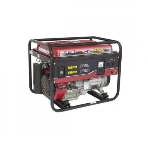 Generator de curent WEIMA WM 5500 E A4office