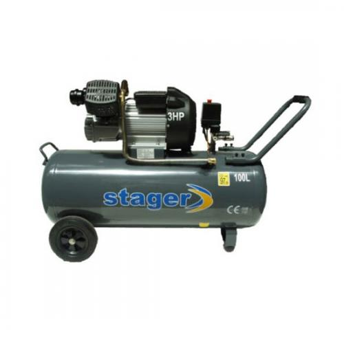 Compresor STAGER HM3100V 3CP, 100L, 8BAR A4office