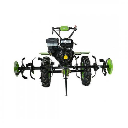 Motocultor DAKARD 1100D cu 13CP   Rarita   Plug reversibil   Prasitoare   Roti metalice A4office