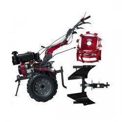 Motocultor WM1100 BE-6 12 CP pornire electrica, 6 viteze   accesorii A4office