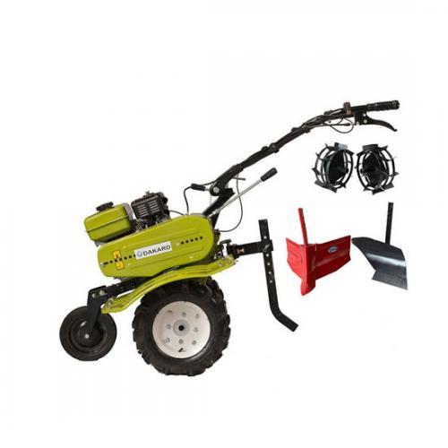 Motocultor DAKARD LY 500, Roti de cauciuc   Freze   Rarita mobila   Roti metalice   Plug arat, 7 CP A4office