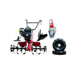 Motocultor Loncin LC 90 roti de cauciuc plug rarita pompa stropit 7L A4office