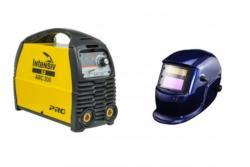 ARC 200 VRD - Aparat de sudura tip invertor + Masca cristale BLUE A4office