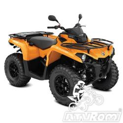 ATV  Can-Am Outlander DPS 570 T3B ABS '18 A4office