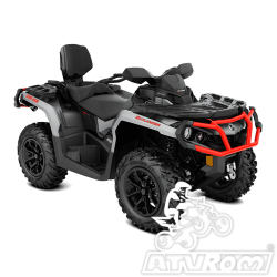 ATV  Can-Am Outlander MAX XT 650 Brushed Aluminum Can-Am Red '18 A4office