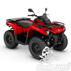 ATV  Can-Am Outlander 450 T '19 A4office