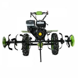 Motocultor Dakard HS 1100 D, roti de cauciuc + Freze + Rarita mobila + Plug reversibil, 13 CP A4office