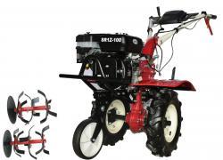 Motocultor DKD SR1Z-100 7 CP+roti metalice+plug arat+rarita mobila+cultivator A4office