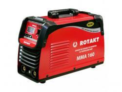Aparat de sudură tip invertor cu tehnologie IGBT ROTAKT MMA 160 A4office