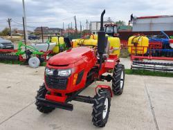 Tractor agricol Konig 18 CP sasiu mare+freza pamant+plug arat A4office